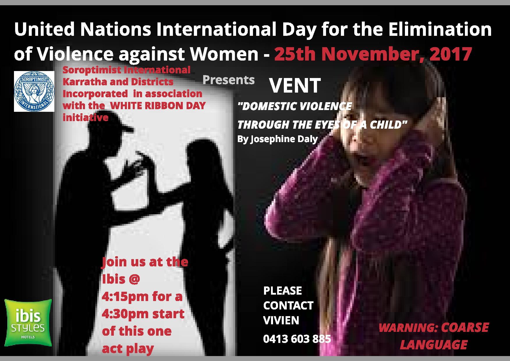 Karratha Domestic Violence Flyer