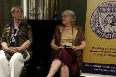 Life Membership - Jennie Van Driel to Soroptimist International Joondalup