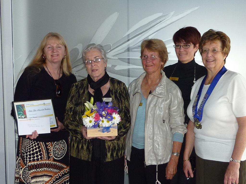 Stella Giles Award winner Janny Thomas
