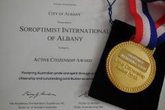 SI Albany Australia Day Award