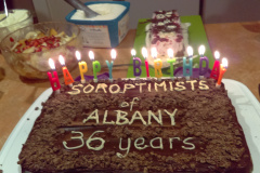 SI Albany birthday dinner