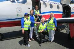 SI Helena - donation to RFDS