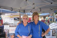 SI Helena - Stall at Community Market Mundaring