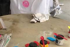 SI Maylands Peninsula - making aprons