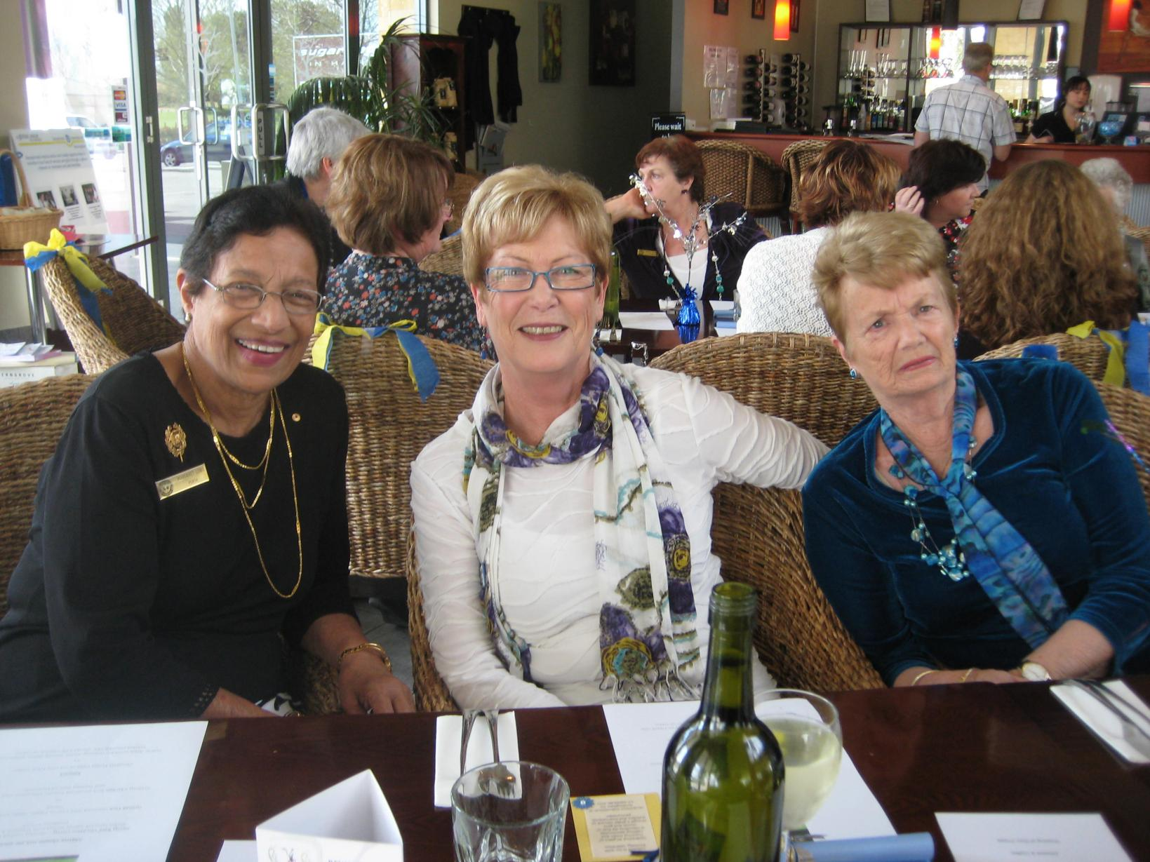 Margaret Lobo SI Perth, Joan Motherwell SI Rockingham and Maureen Butts 'SI Rockingham