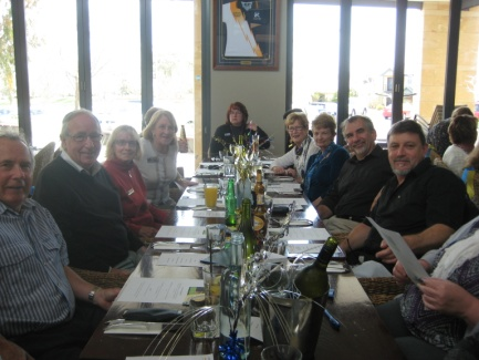 SI Rockingham Members and guests enjoying themselves at the Steel Tree, Baldivis