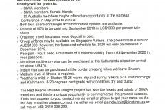 SI TOUR - Bhutan, Sikkim and Nepal 2020