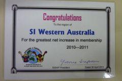 SI WA Win an Award - May 2011
