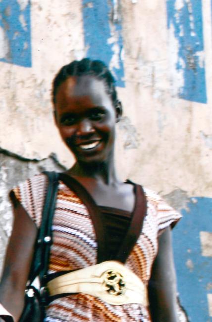 Ariet Agwa, Sudanese refuge studying in Nairobi