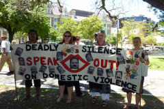Silent March Against Domestic Violence