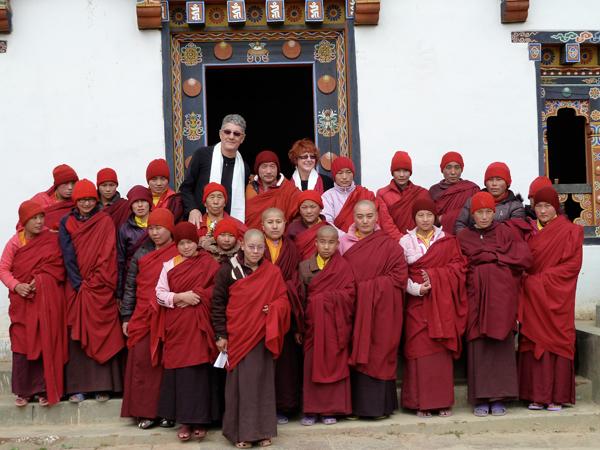 Nuns in Bhutan